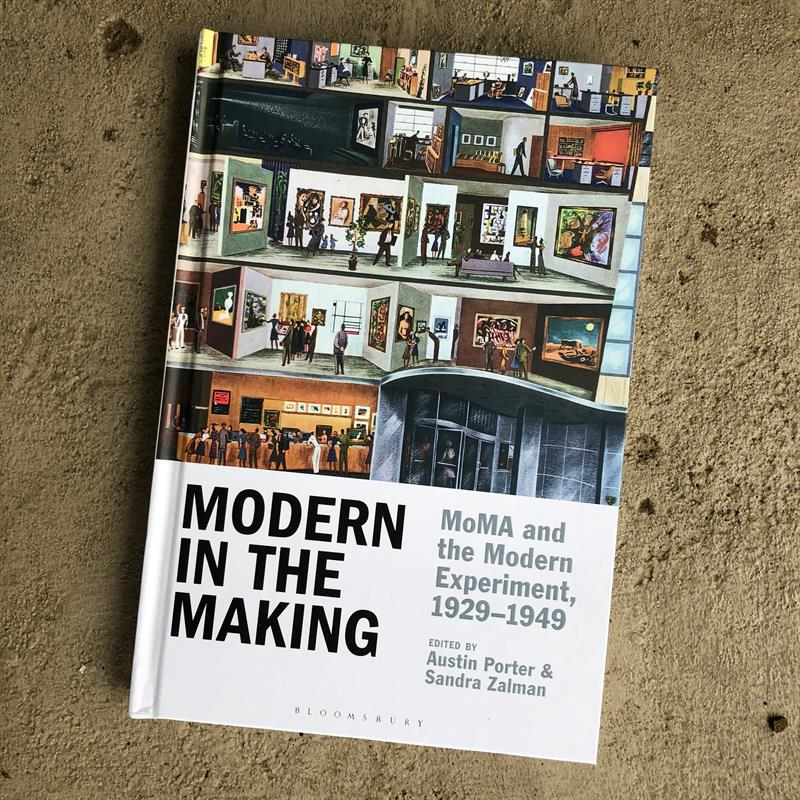 "Jason Hill's book entitled ""Modern in the Making."""